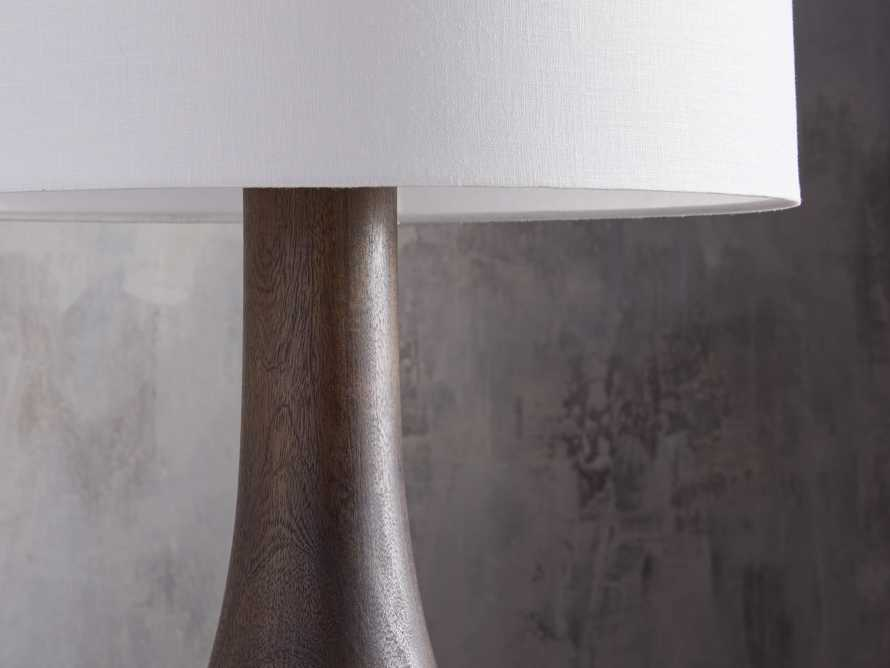 Briar Floor Lamp in Espresso, slide 3 of 5