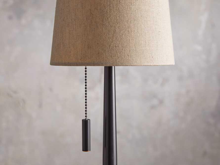 Lancia Table Lamp in Bronze, slide 3 of 5