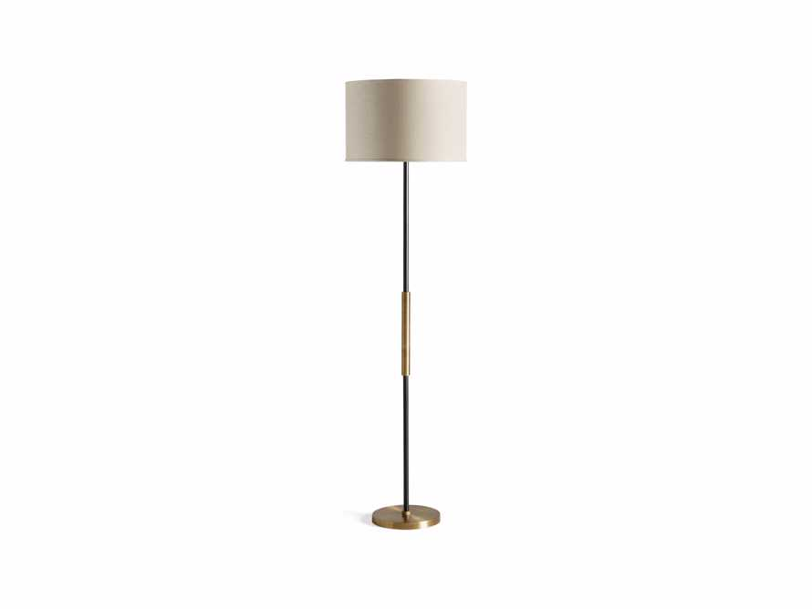 Ardea Floor Lamp with Linen Shade, slide 7 of 7