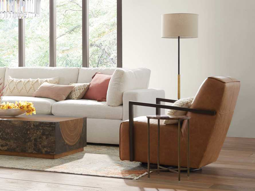 Ardea Floor Lamp with Linen Shade, slide 4 of 7