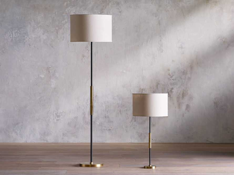 Ardea Table Lamp with Linen Shade, slide 3 of 5