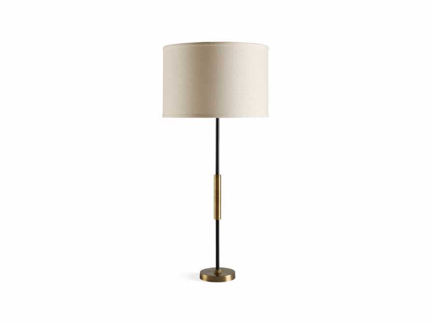 Ardea Table Lamp with Linen Shade, slide 4 of 5