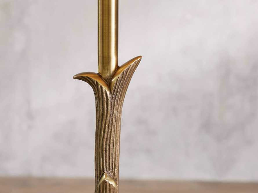 "Flora 17"" Floor Lamp with Ivory Shade, slide 2 of 6"