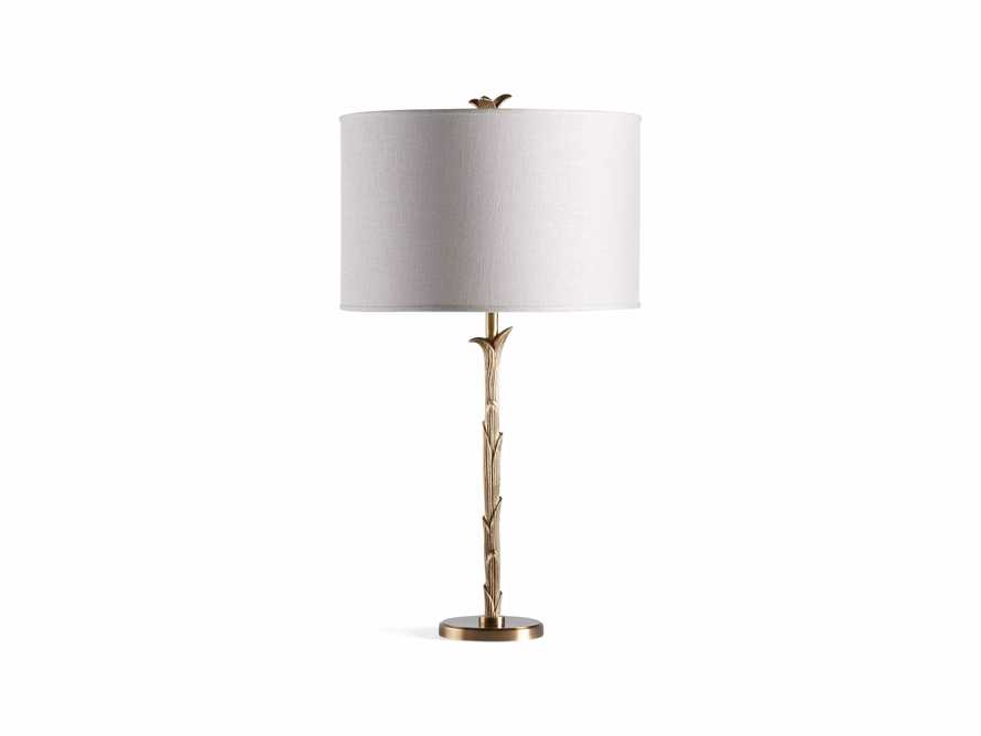 "Flora 14"" Table Lamp with Ivory Shade, slide 6 of 6"