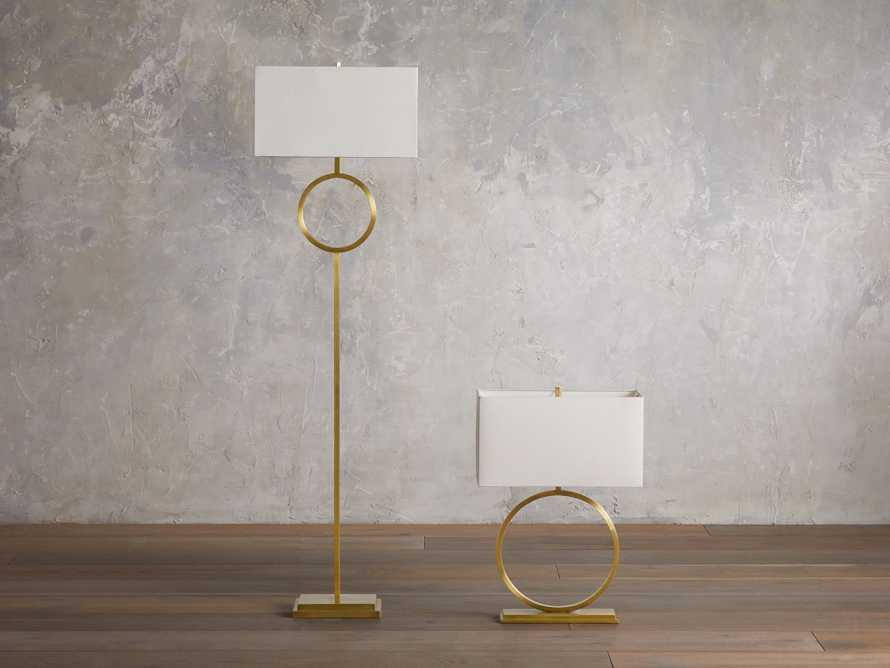 Rhys Table Lamp in Brass, slide 4 of 8