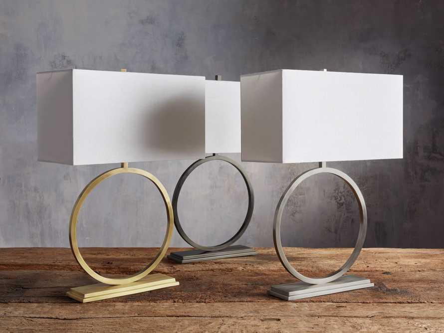 Rhys Table Lamp in Brass, slide 6 of 8