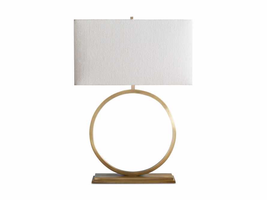 Rhys Table Lamp in Brass, slide 8 of 8