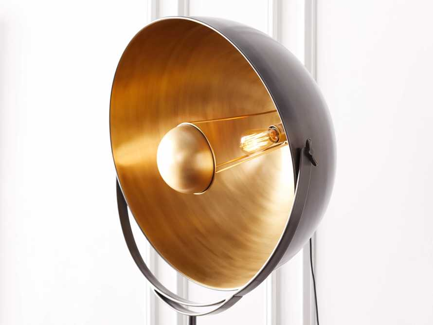 Retro Tripod Floor Lamp, slide 7 of 10