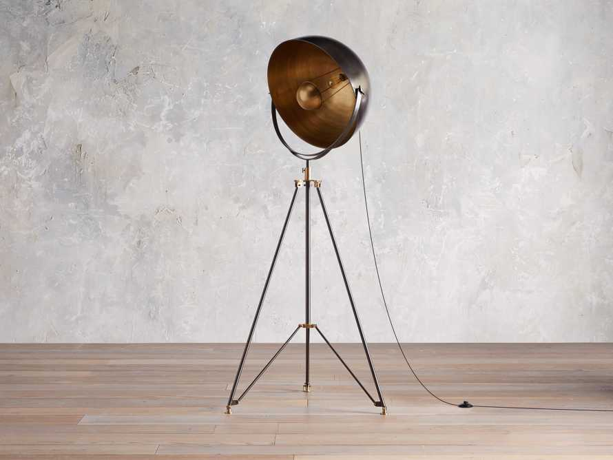 Retro Tripod Floor Lamp, slide 2 of 10