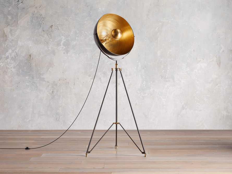 Retro Tripod Floor Lamp, slide 3 of 10