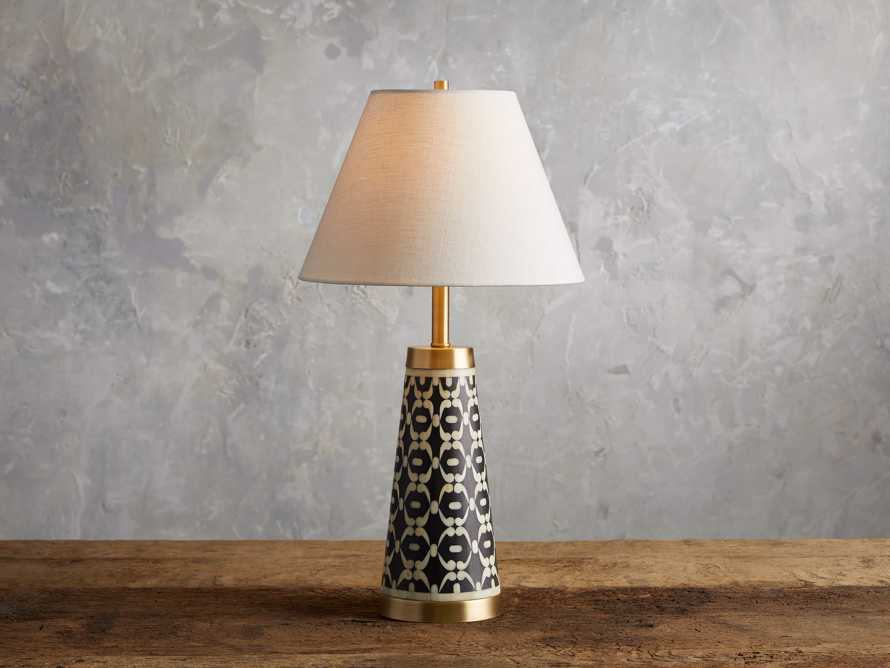 Andi Inlay Table Lamp, slide 1 of 4