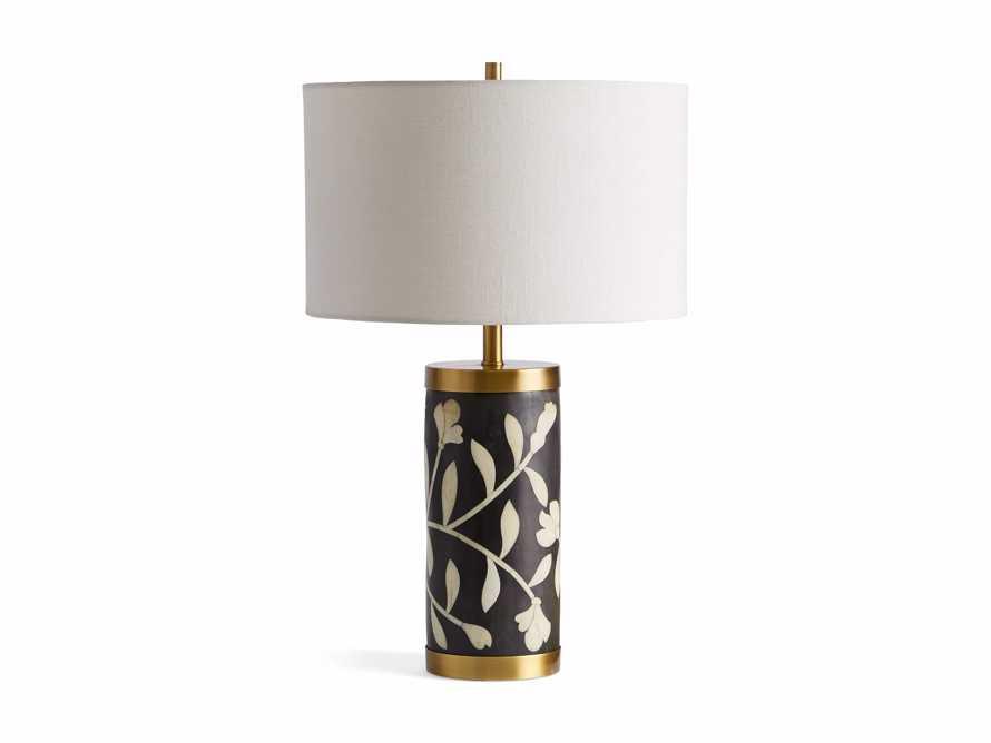 Divya Table Lamp in Black, slide 4 of 4