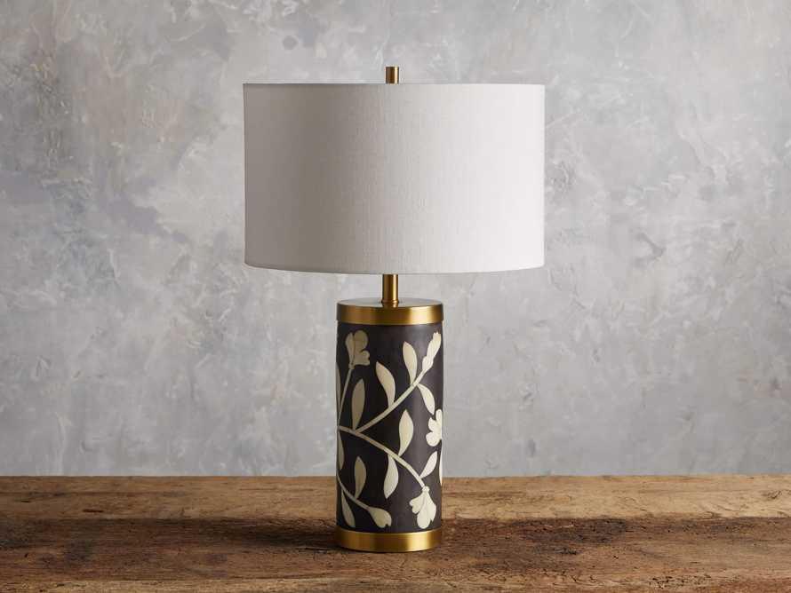 Divya Table Lamp in Black, slide 2 of 4