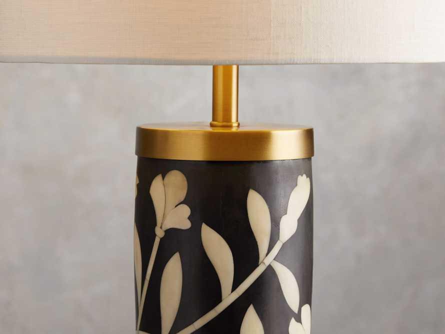 Divya Table Lamp in Black, slide 3 of 4