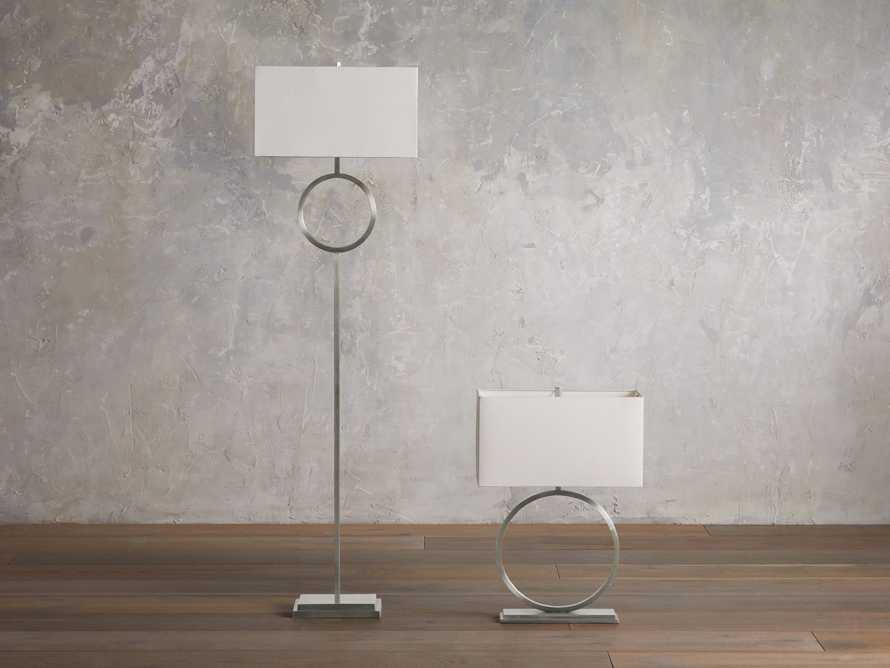 Rhys Nickel Floor Lamp, slide 4 of 5