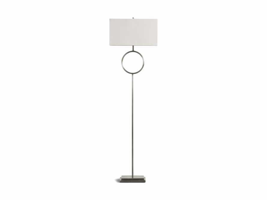 Rhys Nickel Floor Lamp, slide 5 of 5