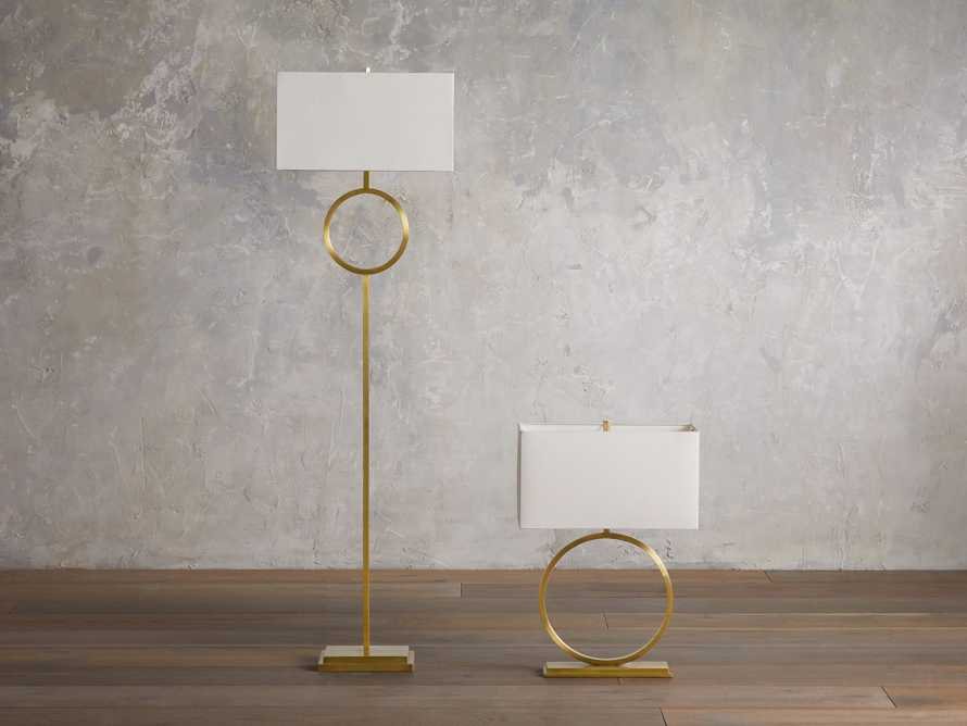 Rhys Brass Floor Lamp, slide 4 of 6