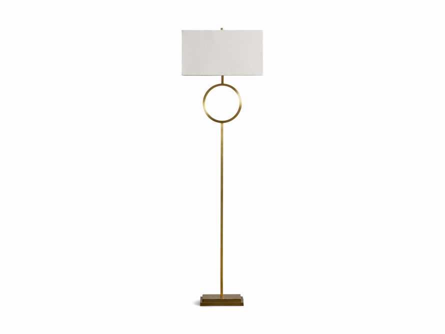 Rhys Brass Floor Lamp, slide 6 of 6
