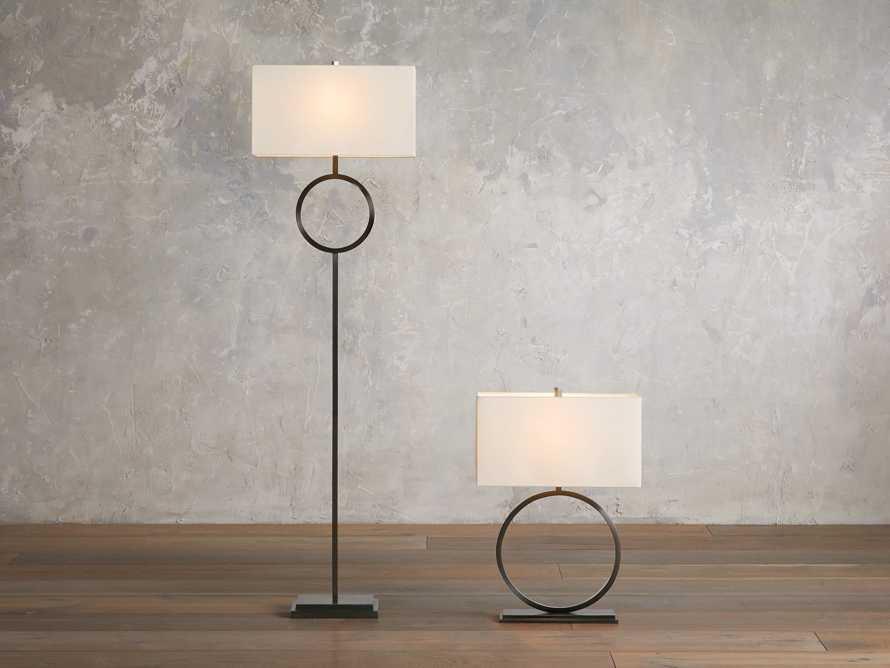 Rhys Bronze Floor Lamp, slide 3 of 5