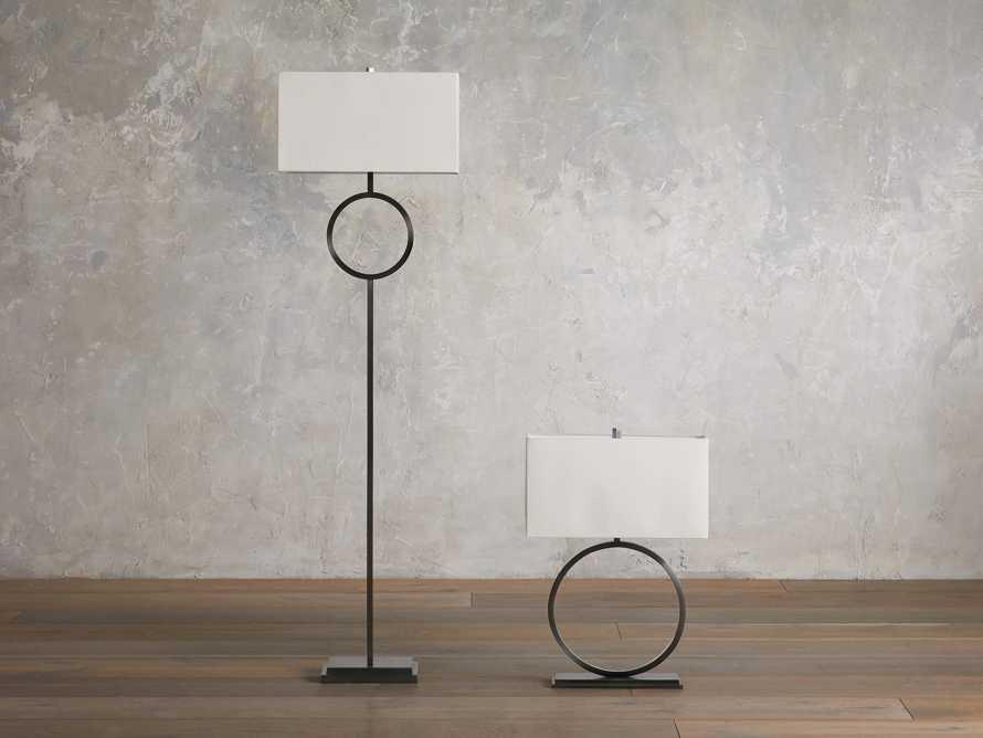 Rhys Bronze Floor Lamp, slide 4 of 5