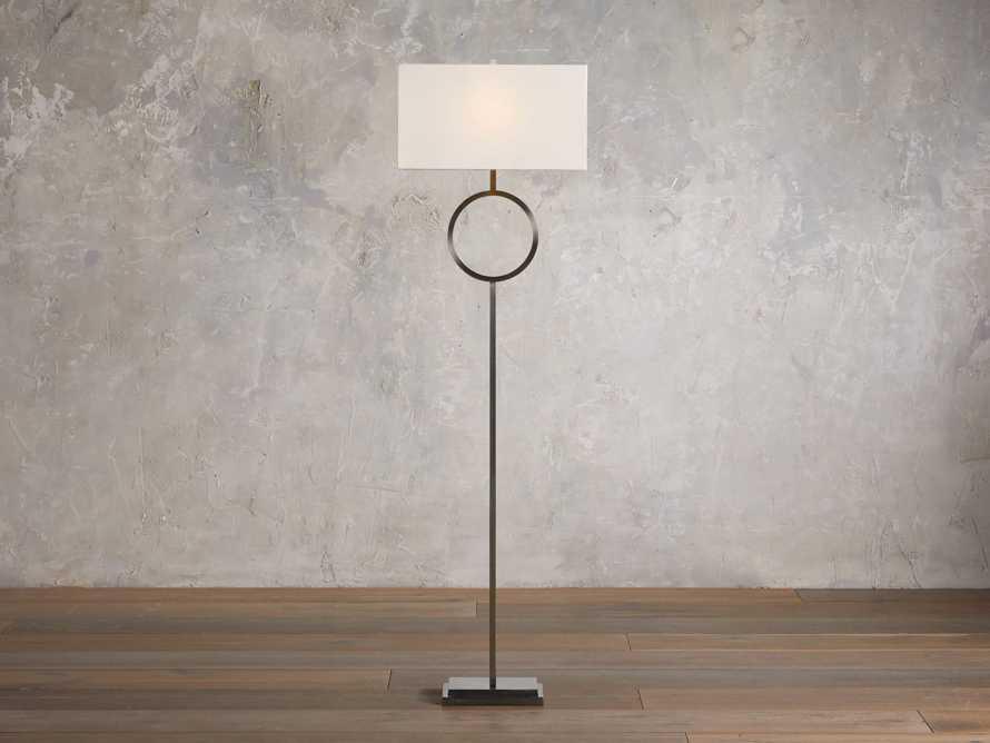 Rhys Bronze Floor Lamp, slide 1 of 5