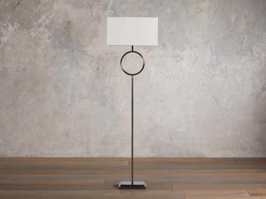 Rhys Bronze Floor Lamp, slide 2 of 5