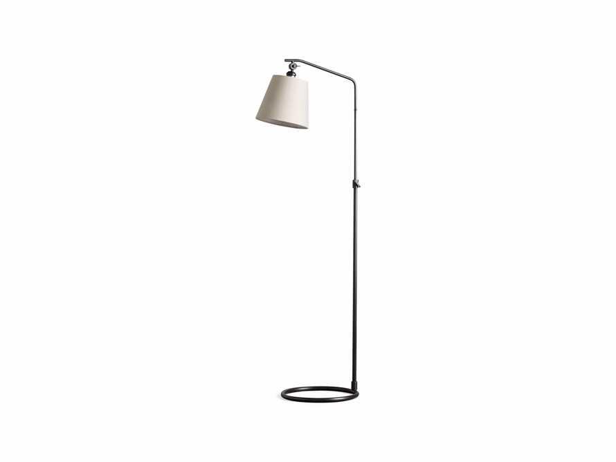 Kellen Bronze Floor Lamp with Linen Shade, slide 9 of 9