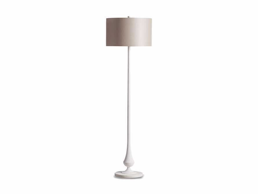 Sutherlin Gesso Floor Lamp, slide 6 of 6