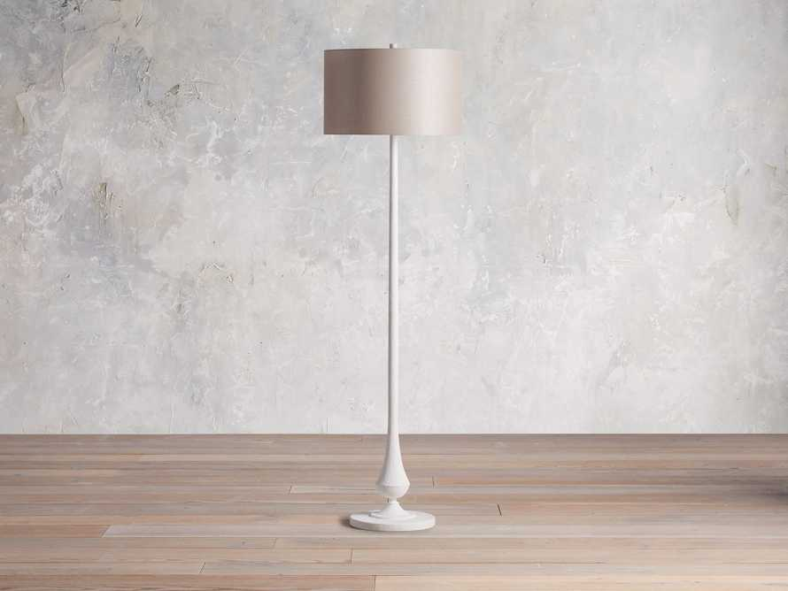 Sutherlin Gesso Floor Lamp, slide 2 of 6