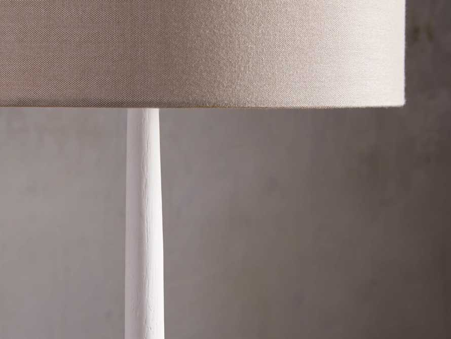Sutherlin Gesso Table Lamp, slide 4 of 7