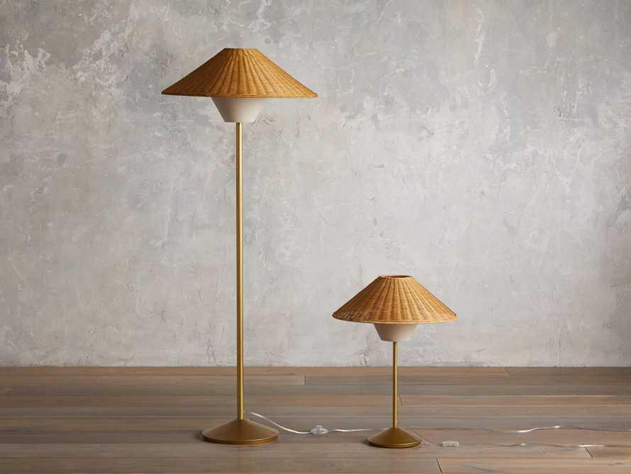 Farrah Rattan Table Lamp, slide 4 of 6