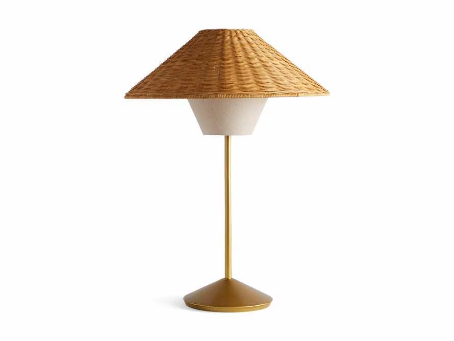Farrah Rattan Table Lamp, slide 6 of 6