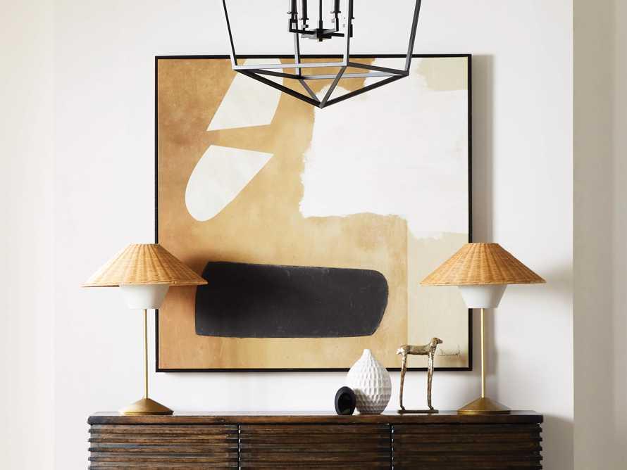 Farrah Rattan Table Lamp, slide 5 of 6