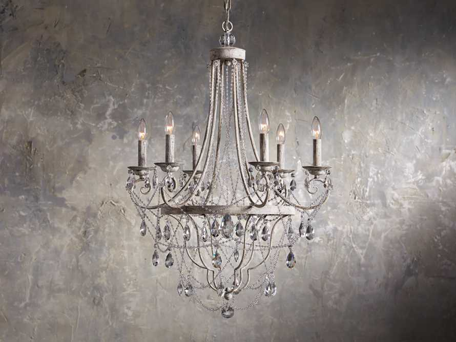 Collier 6 Light Chandelier, slide 1 of 7