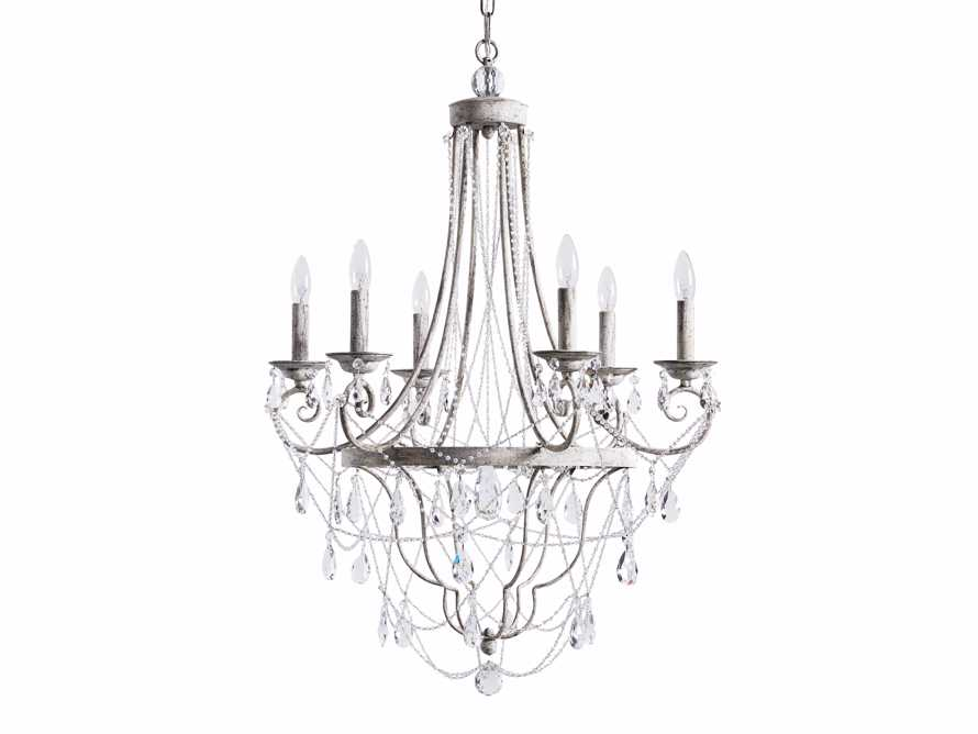 Collier 6 Light Chandelier, slide 7 of 7