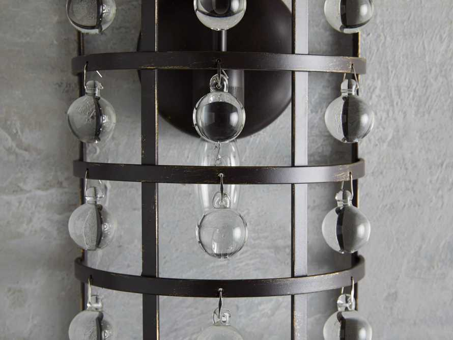 La Cage 1 Light Wall Sconce in Bronze, slide 2 of 3