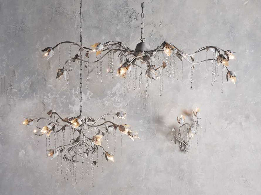 VITICCIO CHANDELIER IN WHITE, slide 4 of 6