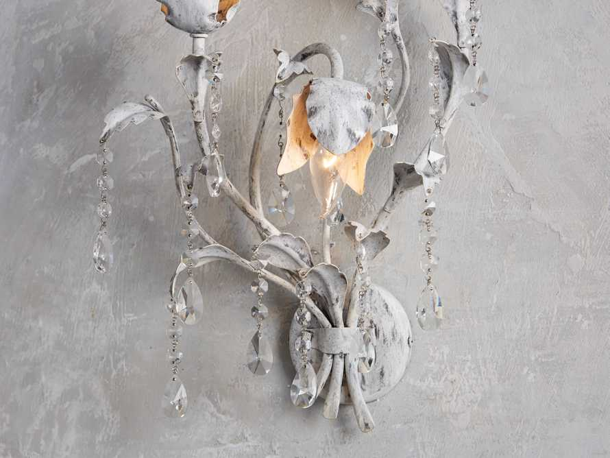 VITICCIO WALL SCONCE IN WHITE, slide 5 of 8