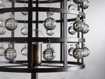 La Cage Floor Lamp in Bronze
