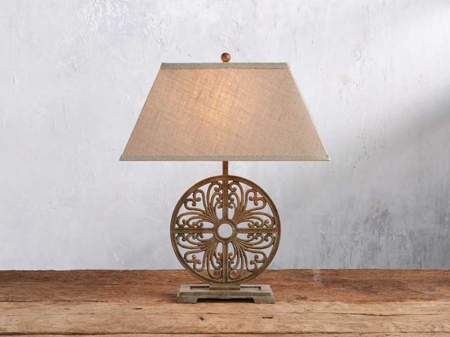 Javi Iron Table Lamp, slide 1 of 5