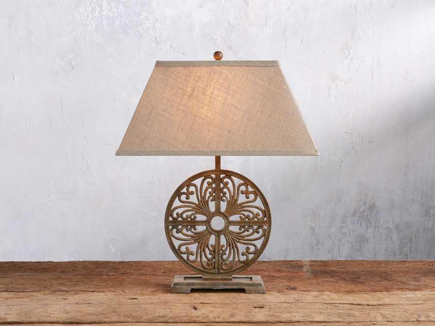 Javi Iron Table Lamp, slide 1 of 5