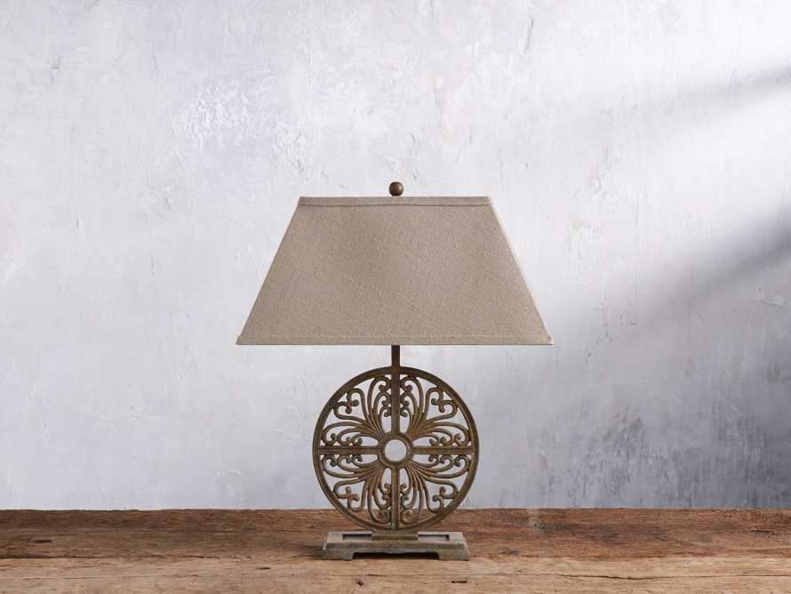 Javi Iron Table Lamp, slide 2 of 5