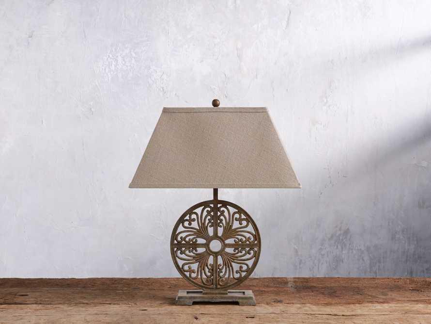 Javi Iron Table Lamp, slide 2 of 5