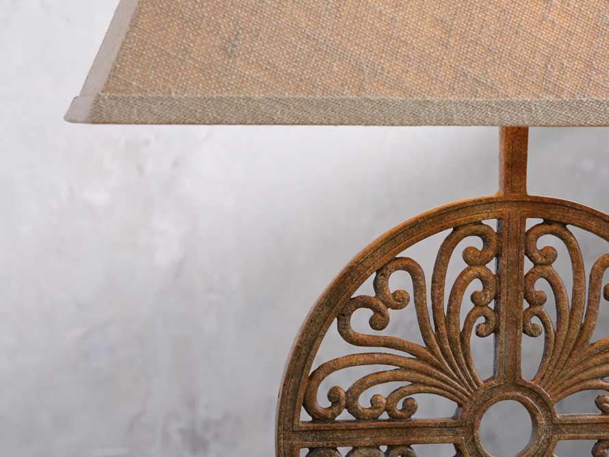Javi Iron Table Lamp