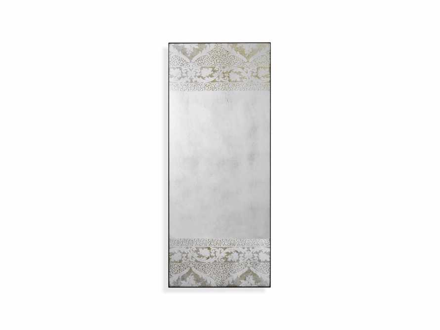 "KALINDA 72"" NARROW FLOOR MIRROR IN WHITE, slide 5 of 5"