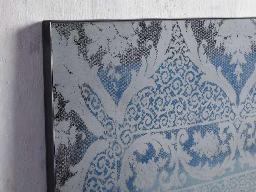 """Solange 42"""" x 66"""" Mirror in Blue"""