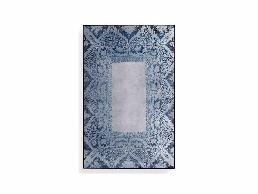 "Solange 42"" x 66"" Mirror in Blue, slide 3 of 3"