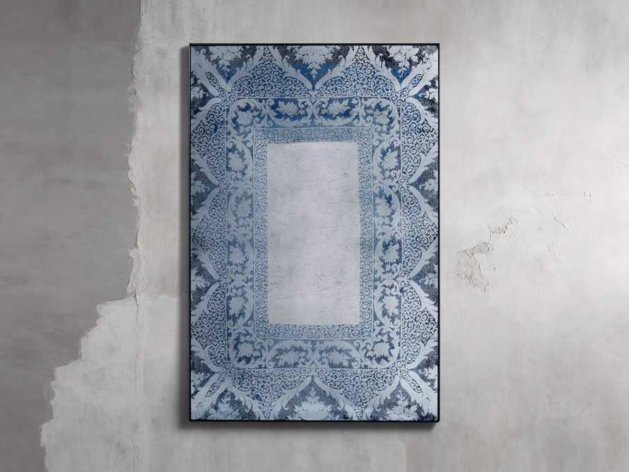 "Solange 42"" x 66"" Mirror in Blue, slide 1 of 3"
