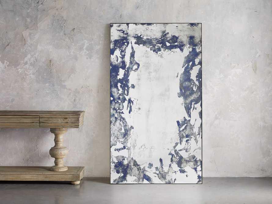 Large Iona Floor Mirror in Cobalt, slide 1 of 5