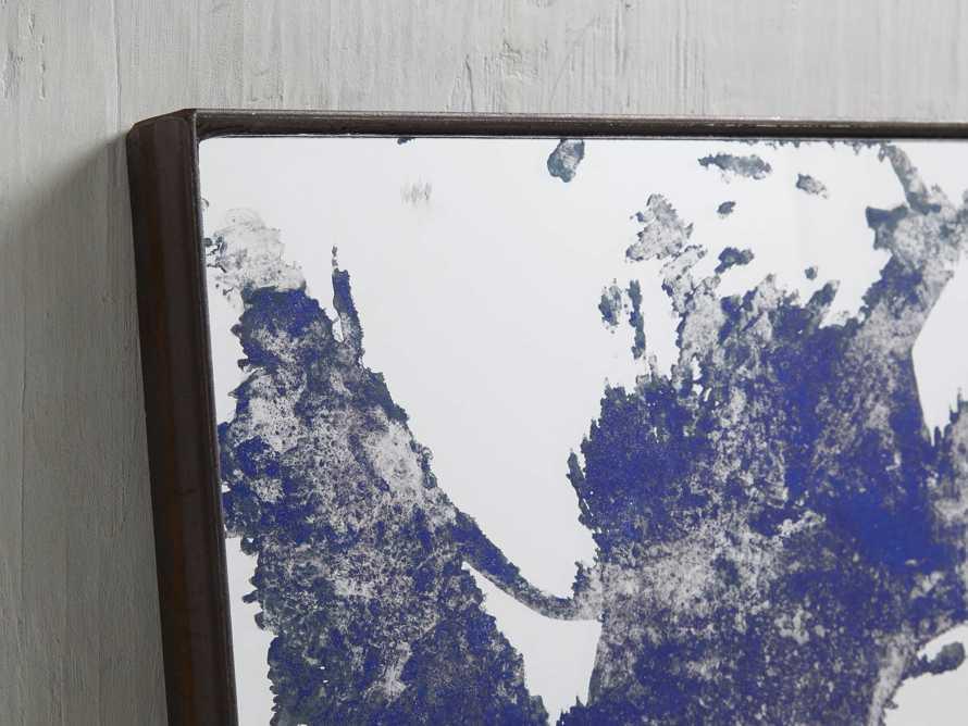 Large Iona Floor Mirror in Cobalt, slide 2 of 5
